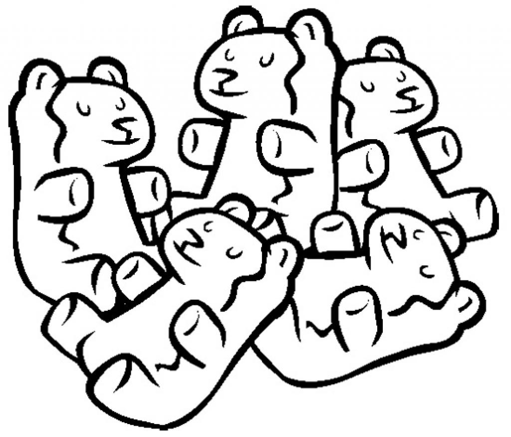 gummy bear sketch como desenhar urso gummy bear como dibujar osito gummy sketch bear