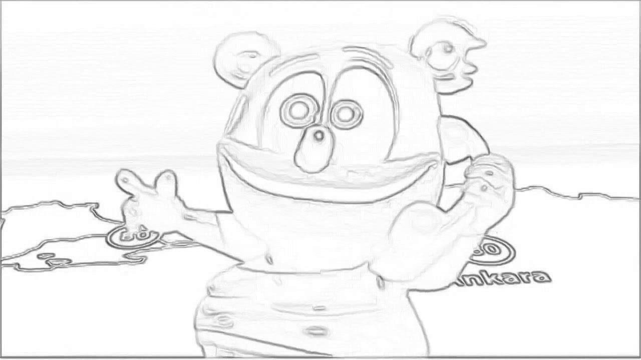 gummy bear sketch gummy bear by cream201 on deviantart sketch bear gummy