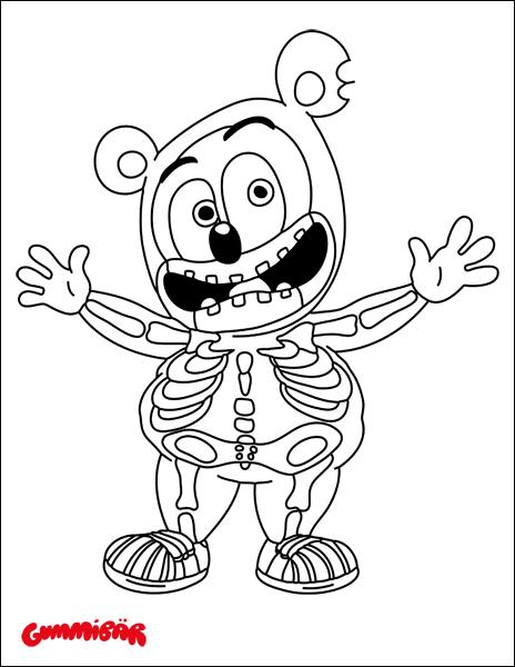 gummy bear sketch gummy bear candy coloring pages coloring pages gummy bear sketch