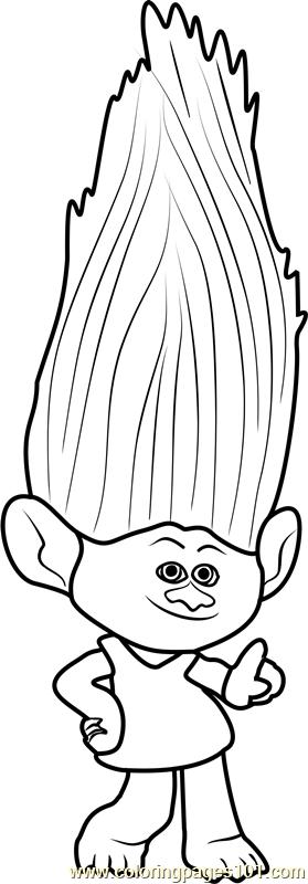 guy diamond trolls learn how to draw princess poppy from trolls trolls step diamond guy trolls