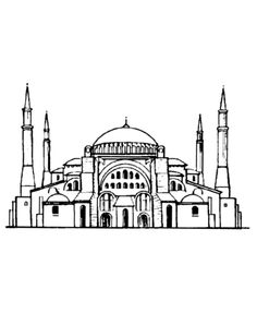 hagia sophia coloring page 66 best hagia sofia images on pinterest istanbul turkey coloring page hagia sophia