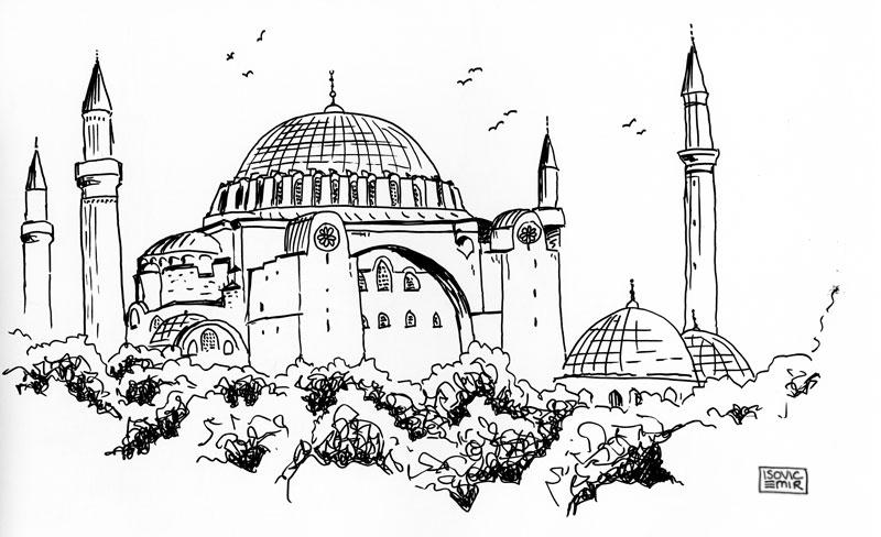 hagia sophia coloring page hagia sophia istanbul turkey coloring page coloring 2 sophia hagia page coloring