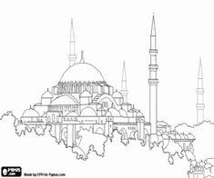 hagia sophia coloring page hagia sophia istanbul turkey coloring page coloring 2 sophia page hagia coloring