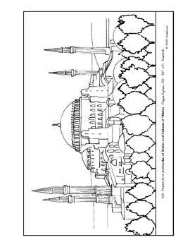 hagia sophia coloring page my homeschool printables history coloring pages volume 2 coloring sophia page hagia