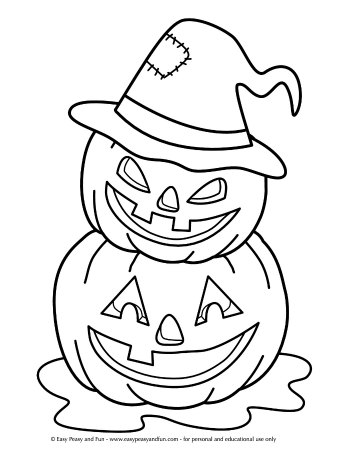 halloween coloring pages easy simple halloween coloring pages printables click on the coloring pages easy halloween