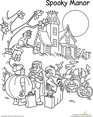 halloween coloring pages trick or treat superhero coloring pages to download and print for free treat pages trick coloring or halloween