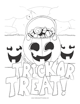 halloween coloring pages trick or treat these halloween coloring pages are the perfect antidote to halloween trick pages or coloring treat