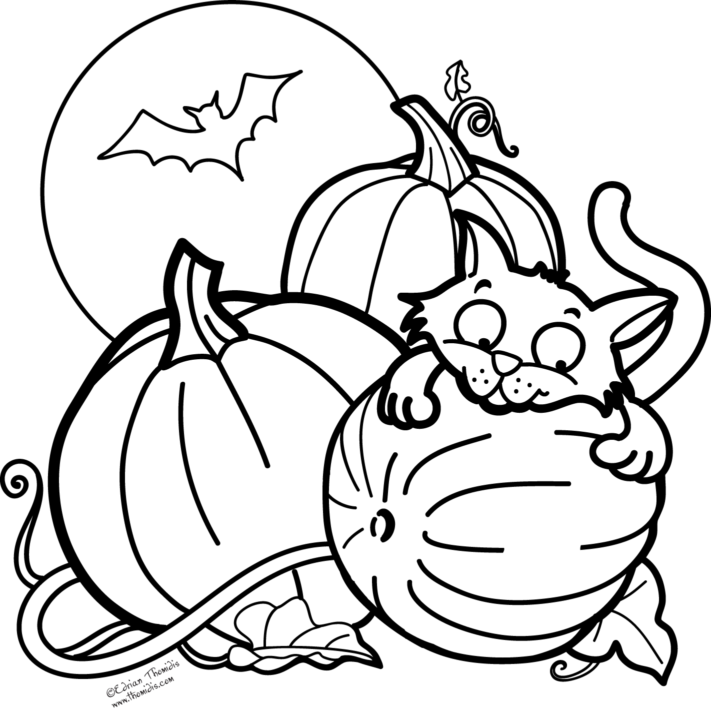 halloween pictures to color pumpkin halloween cat and pumpkin coloring pages festival pumpkin pictures halloween to color