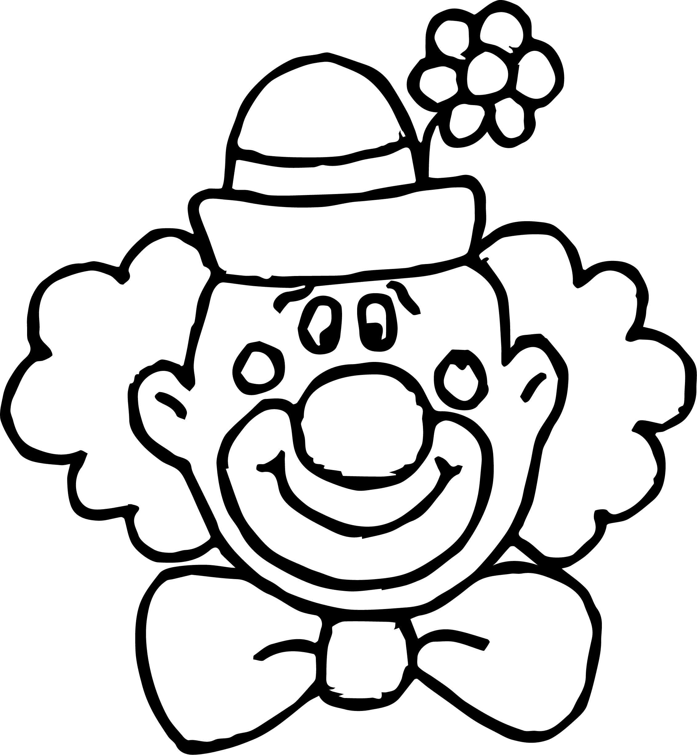 happy clown coloring pages free happy clown images download free clip art free clip pages coloring happy clown