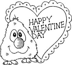happy valentines day coloring pages happy valentine39s day coloring page free printable pages day happy coloring valentines
