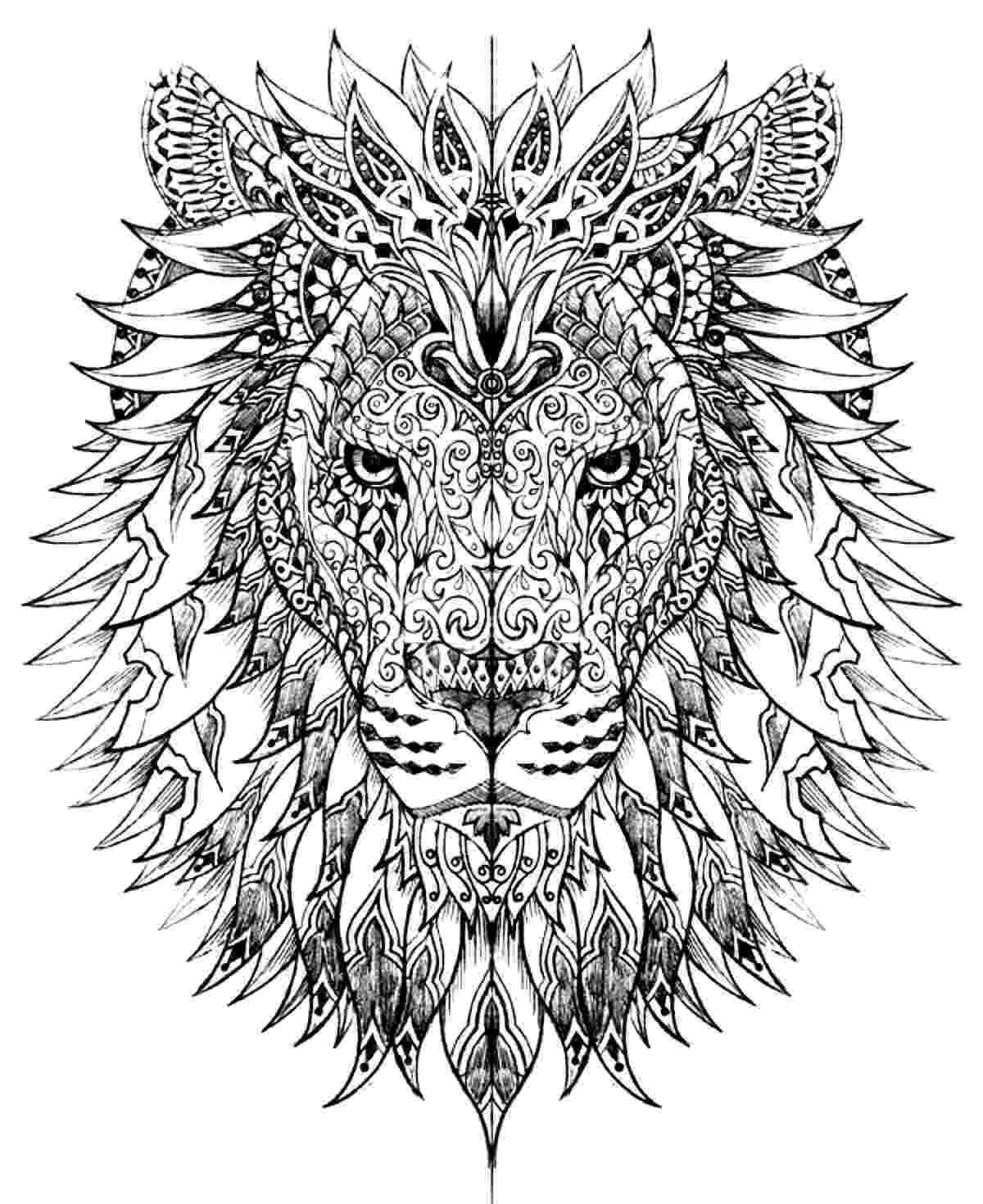 hard animal coloring pages coloring pages for adults difficult animals 44 coloring coloring animal hard pages