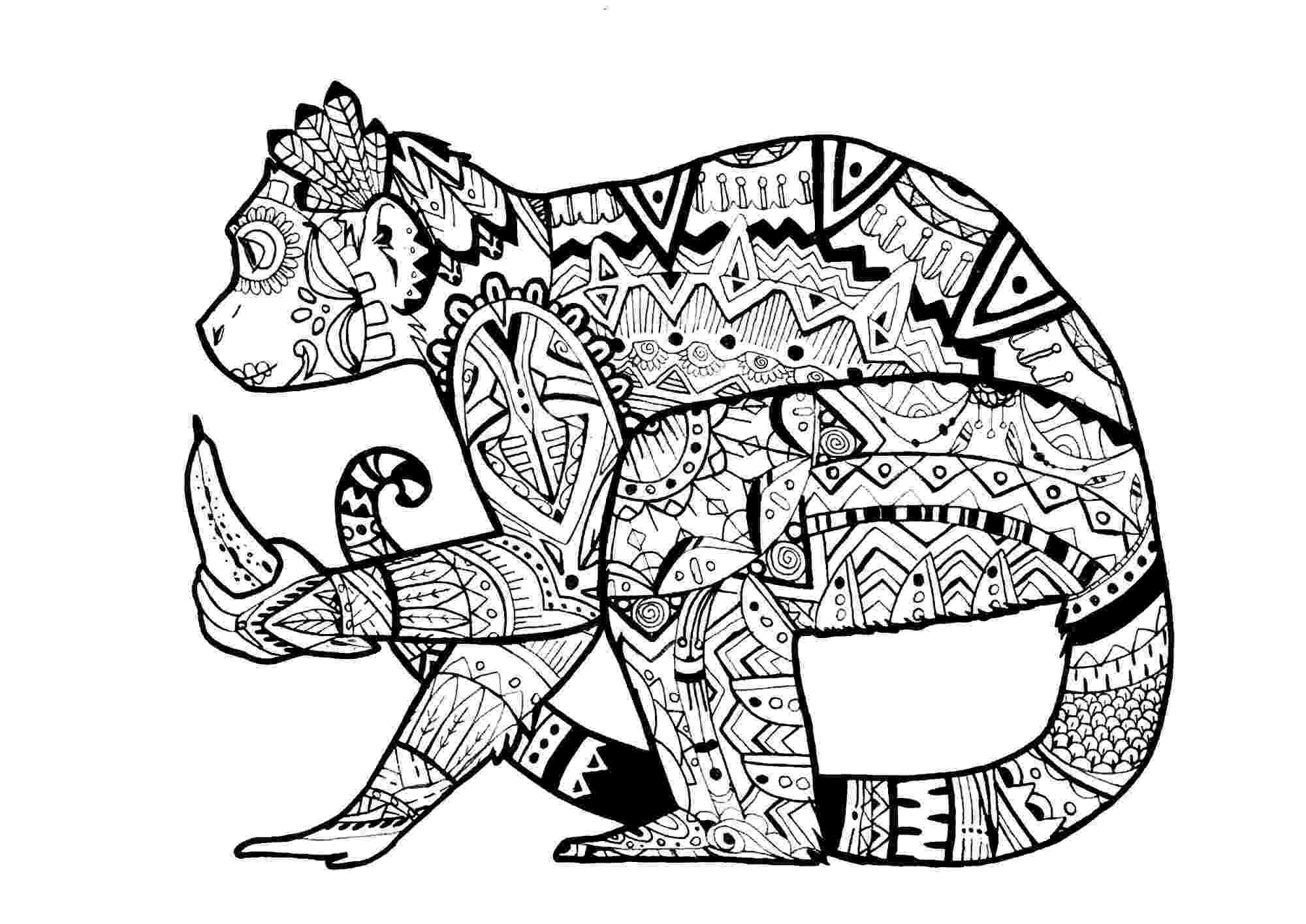 hard animal coloring pages coloring pages for adults difficult animals 46 coloring animal hard coloring pages