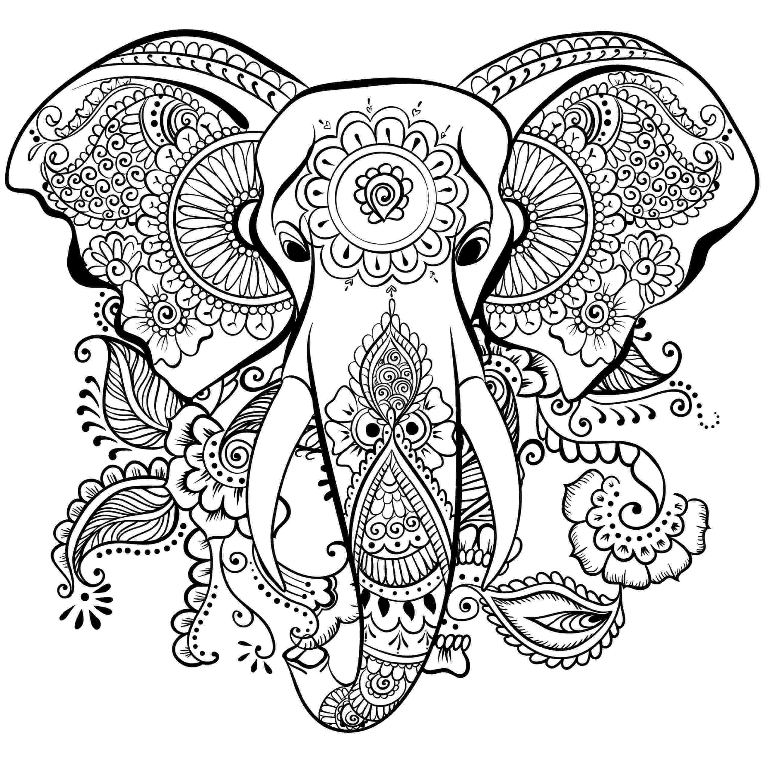 hard animal coloring pages coloring pages for adults difficult animals 7 coloring pages coloring hard animal