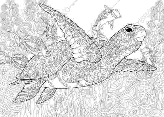 hard fish coloring pages starfish zentangle coloring page printable ocean coloring hard fish pages