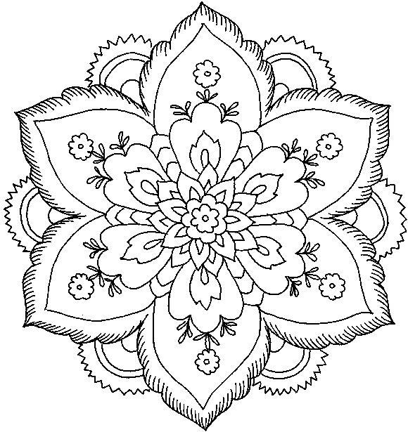 hard flower coloring pages ausmalbilder für kinder malvorlagen und malbuch hard coloring pages hard flower