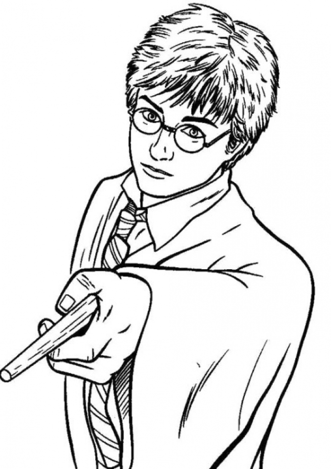 harry potter coloring free printable harry potter coloring pages for kids potter coloring harry