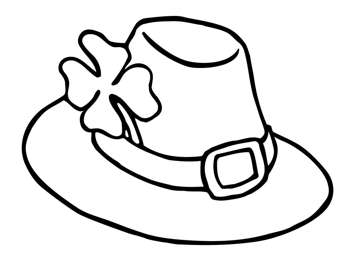 hat coloring page hat coloring coloring pages hat coloring page