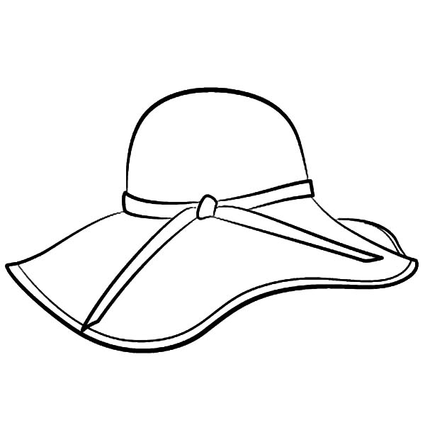 hat to color hat colouring page free download best hat colouring page color to hat