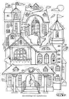 haunted house coloring pages printables scary haunted house coloring page free printable haunted pages printables house coloring