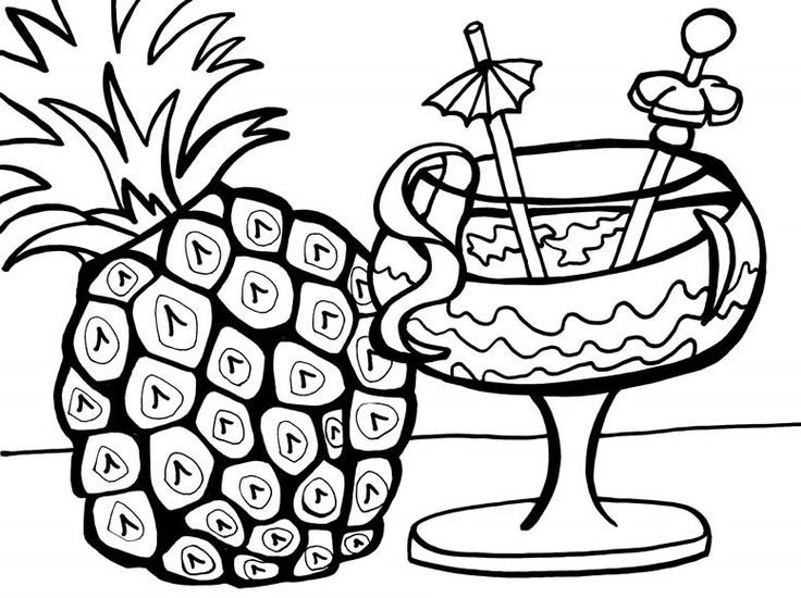 hawaiian pictures to color 14 best luau party images on pinterest pictures color to hawaiian