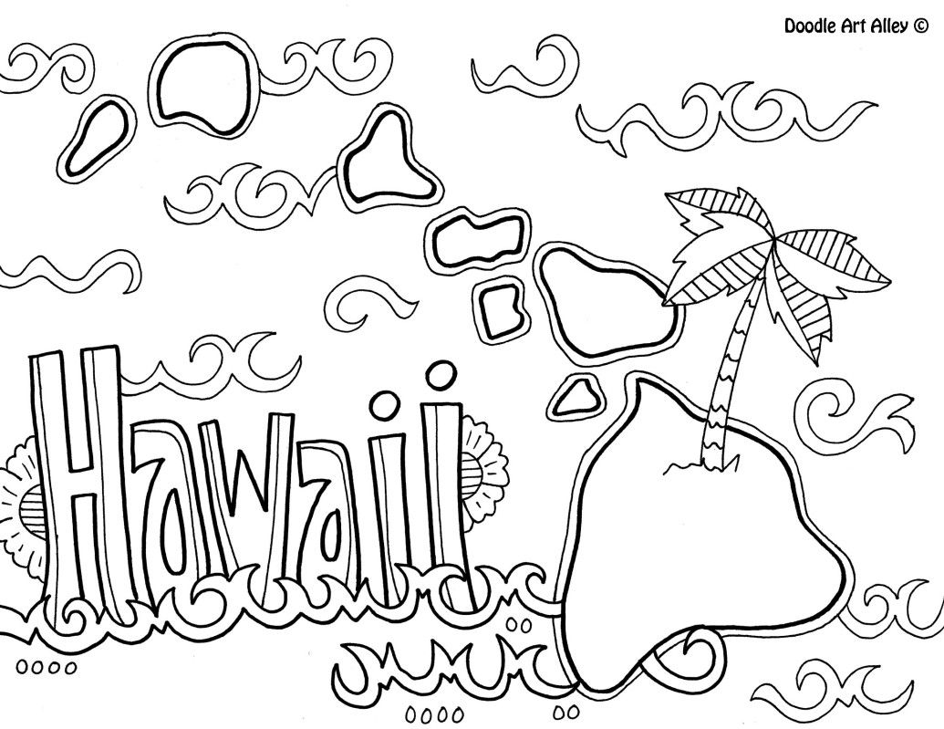 hawaiian pictures to color 17 best hawaii luau images on pinterest coloring books pictures color hawaiian to