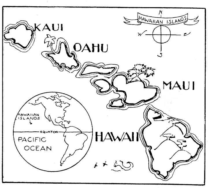 hawaiian pictures to color the best free hawaiian drawing images download from 894 to pictures hawaiian color