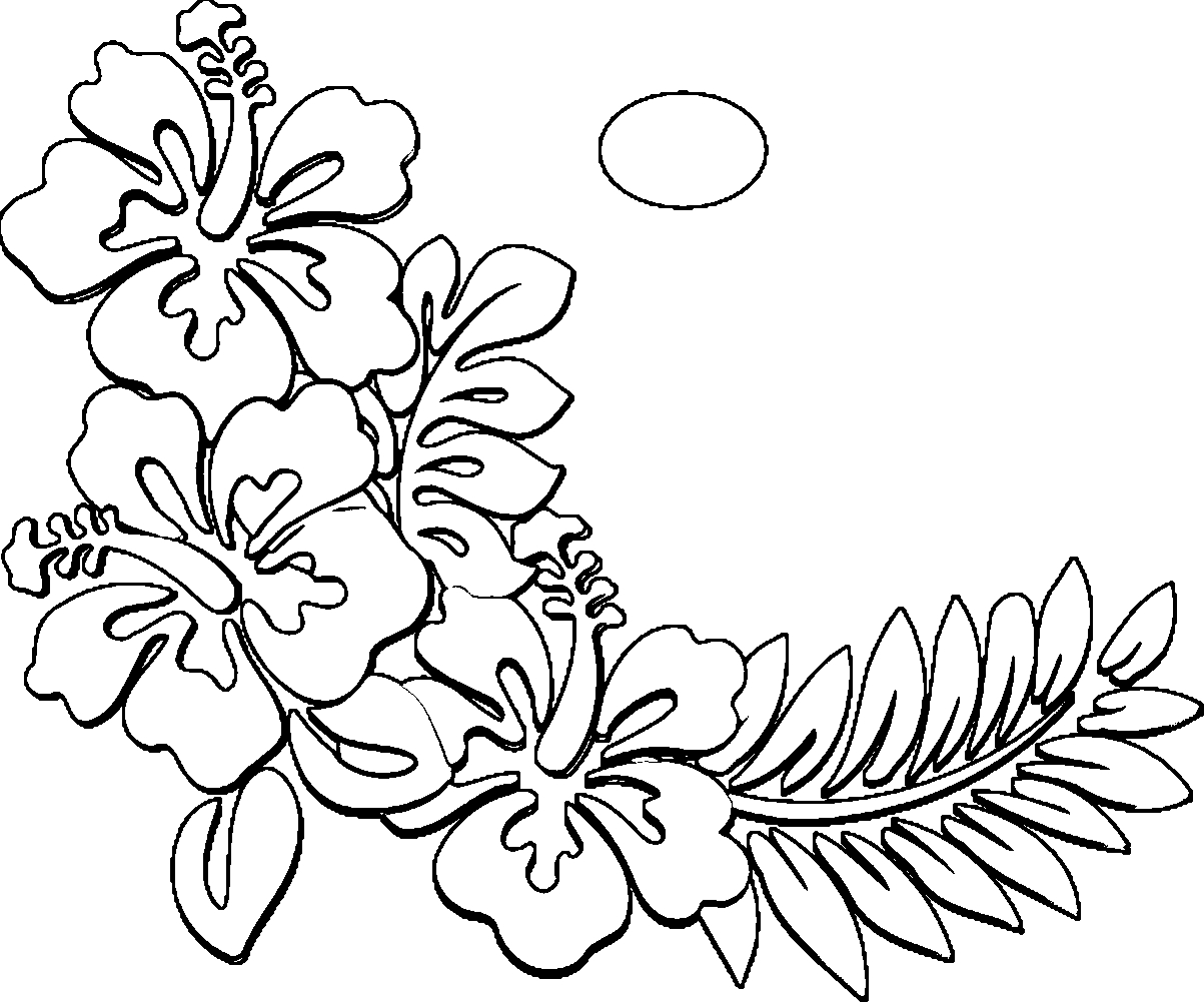 hawaiian themed pictures hawaii coloring pages free printables at getdrawingscom hawaiian themed pictures
