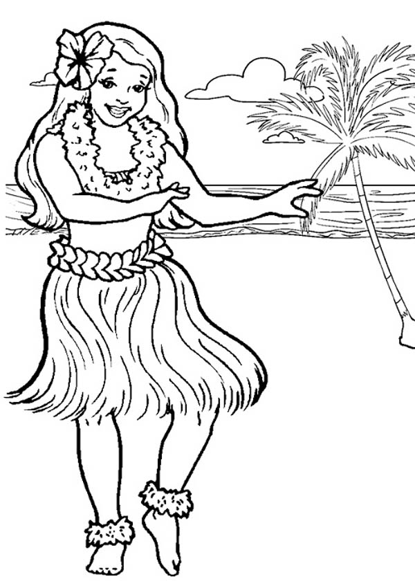 hawaiian themed pictures hawaiian coloring pages to download and print for free pictures themed hawaiian