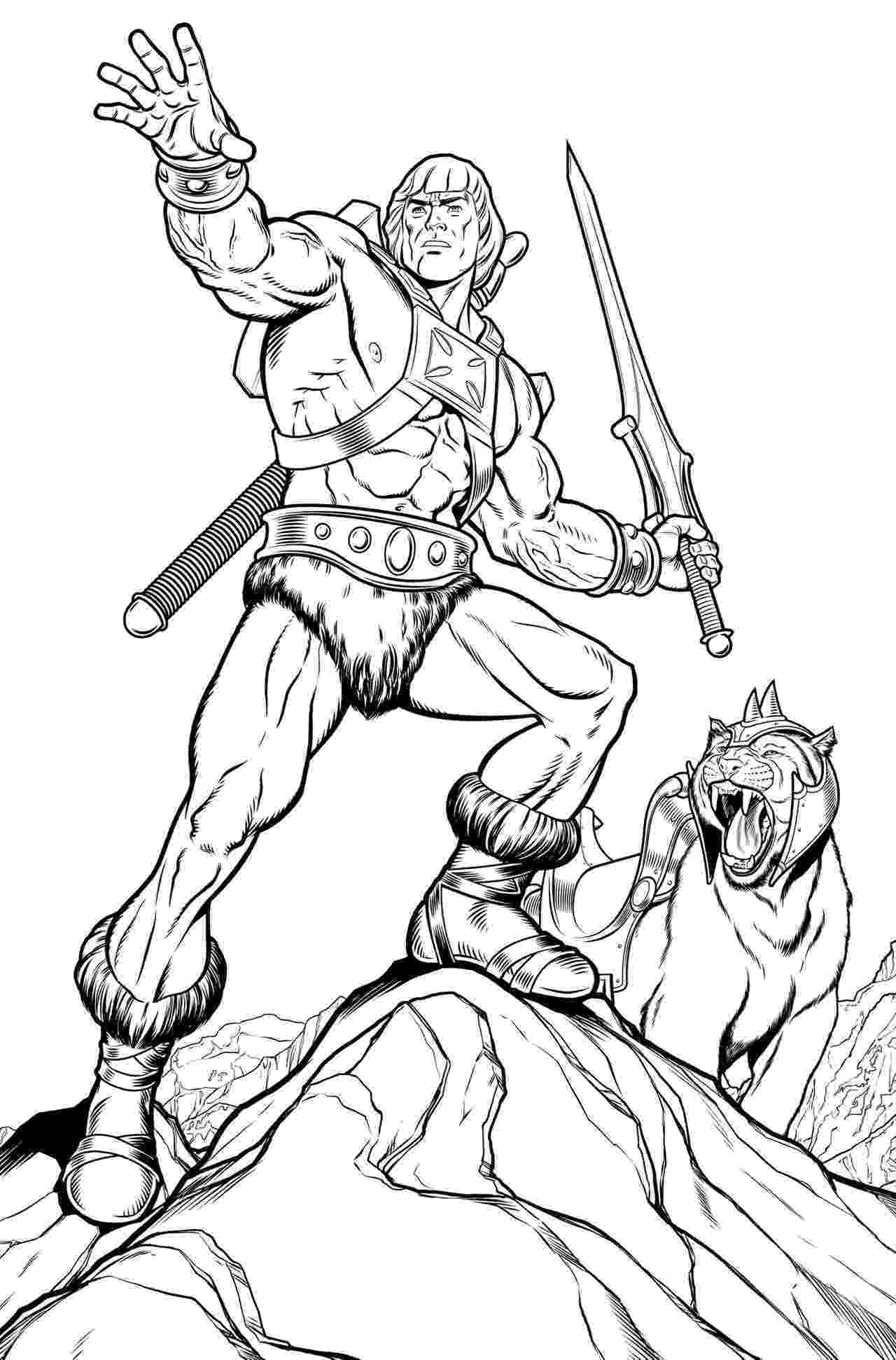 he man coloring pages he man and the masters of the universe coloring pages pages man coloring he