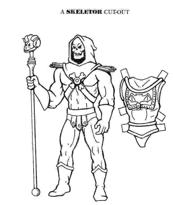 he man coloring pages mostly paper dolls he man and skeletor cut outs coloring he pages man