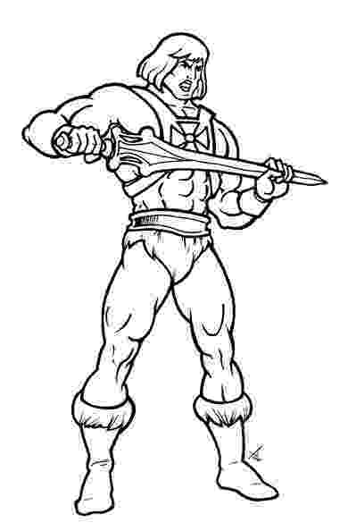 he man coloring pages pin on lineart masters of the universe pages man he coloring