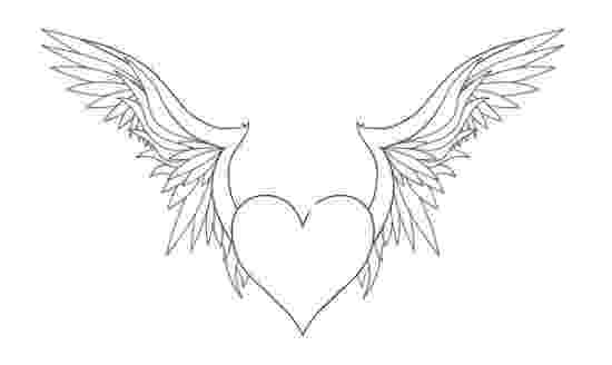 heart coloring pages with wings coloring pages of hearts with wings coloring home wings heart pages coloring with