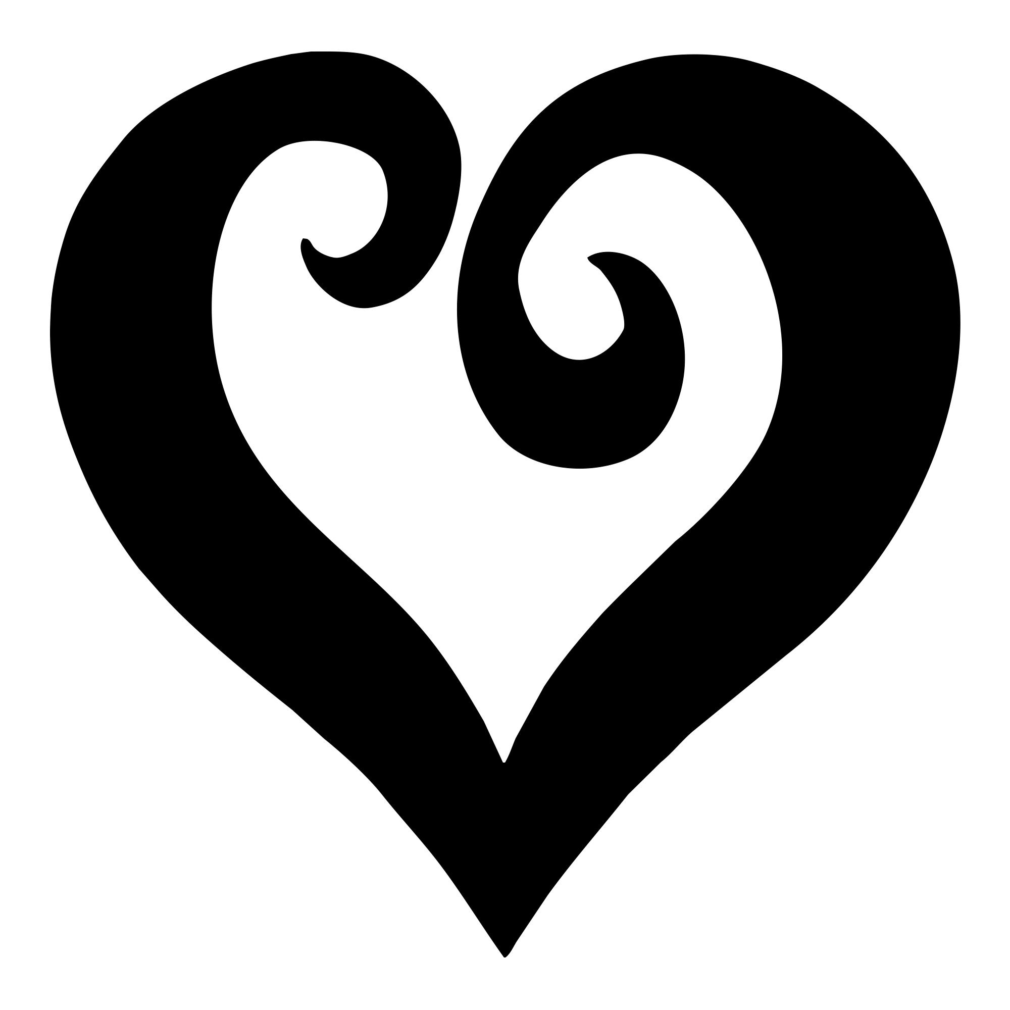 heart pictures black heart clip art at clkercom vector clip art online pictures heart