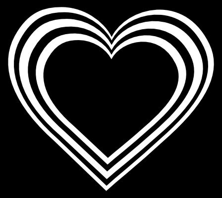 heart pictures black heart clip art at clkercom vector clip art online pictures heart 1 1
