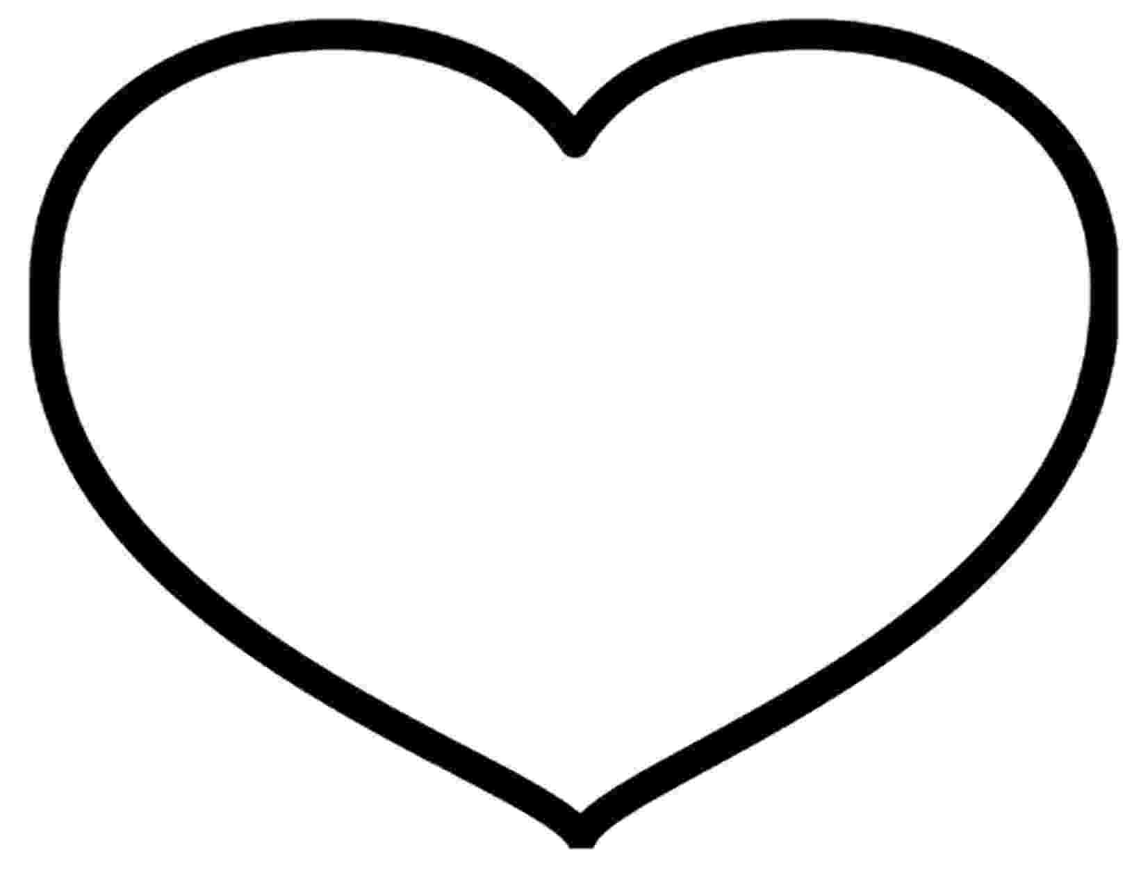 heart to color big heart coloring pages gtgt disney coloring pages to heart color