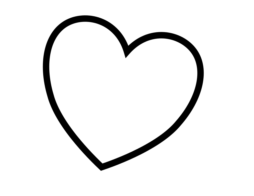 heart to color free printable heart coloring pages for kids emoji to color heart
