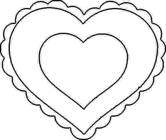 heart to color my craft notebook kalp şablonlarıheart template color to heart