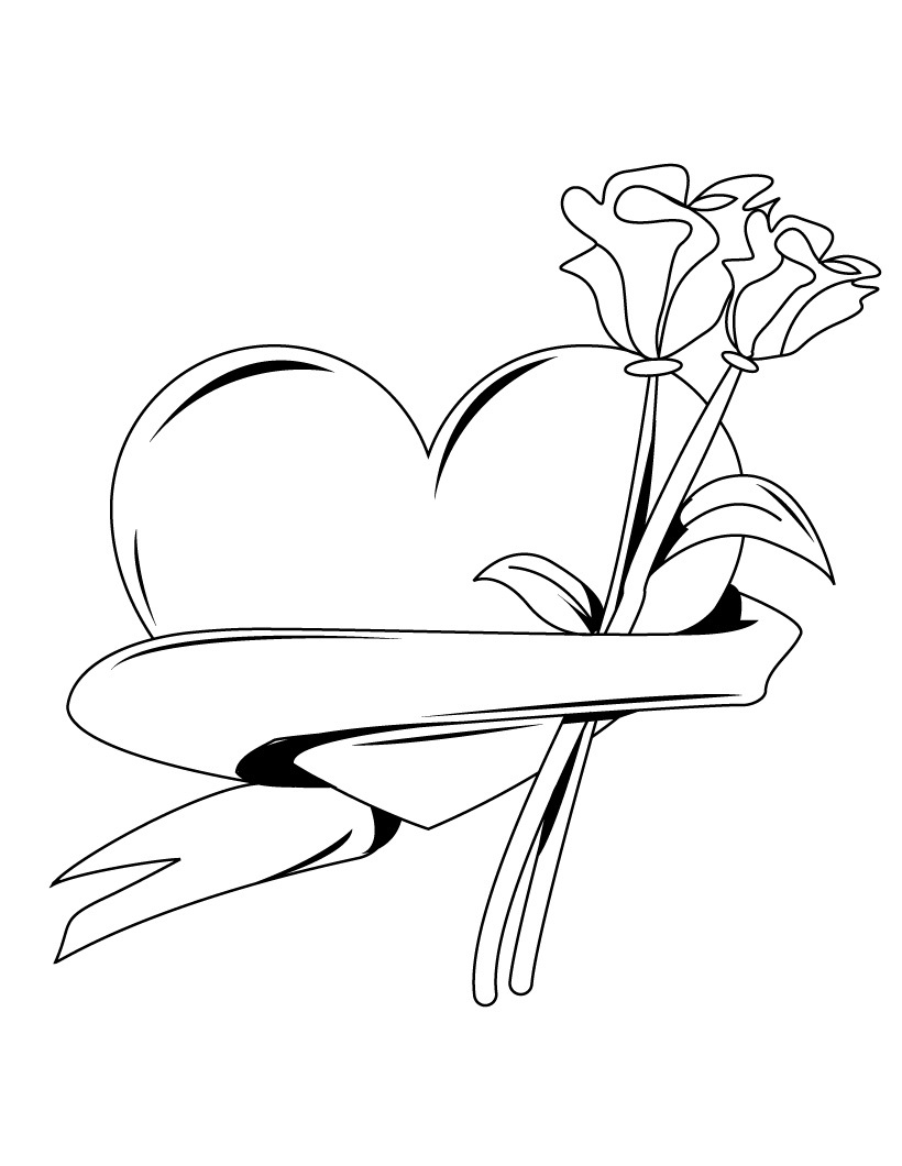 hearts coloring pictures free printable heart coloring pages for kids hearts coloring pictures