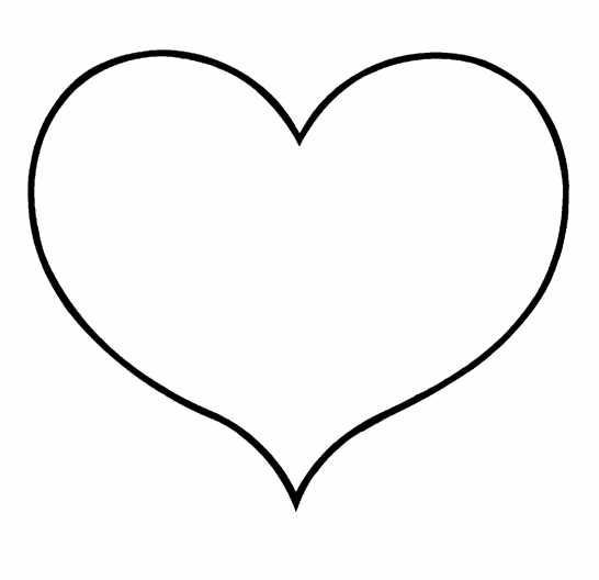 hearts coloring pictures small heart shapes clipart best coloring pictures hearts