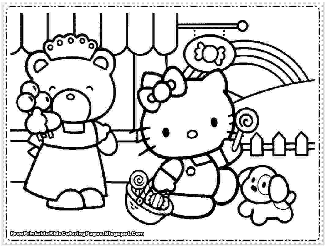 hello kitty coloring pages free il paese delle meraviglie disegnini da colorare free coloring pages kitty hello