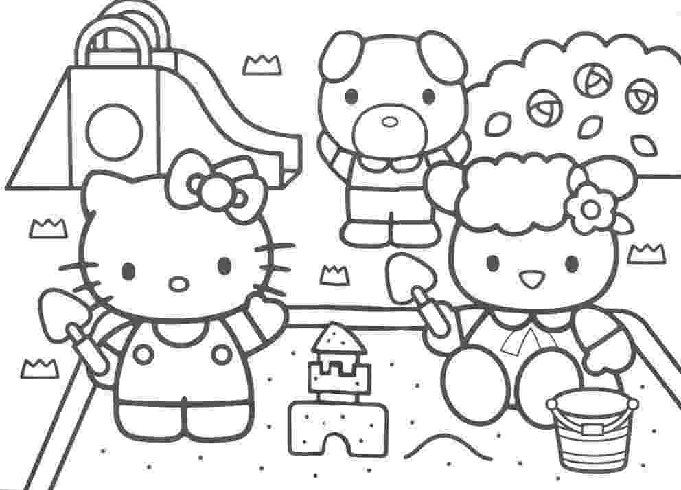 hello kitty coloring pages free november 2011 hello kitty kitty pages hello free coloring