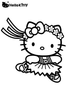 hello kitty dancing coloring pages hello kitty and teddy bear coloring page free coloring kitty pages hello dancing coloring