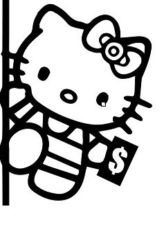 hello kitty dancing coloring pages hello kitty dancing hello kitty coloring pages pages kitty dancing coloring hello