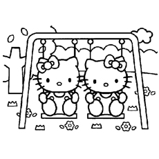 hello kitty dancing coloring pages hellokitty coloring page of dancing girl hello kitty kitty coloring dancing hello pages