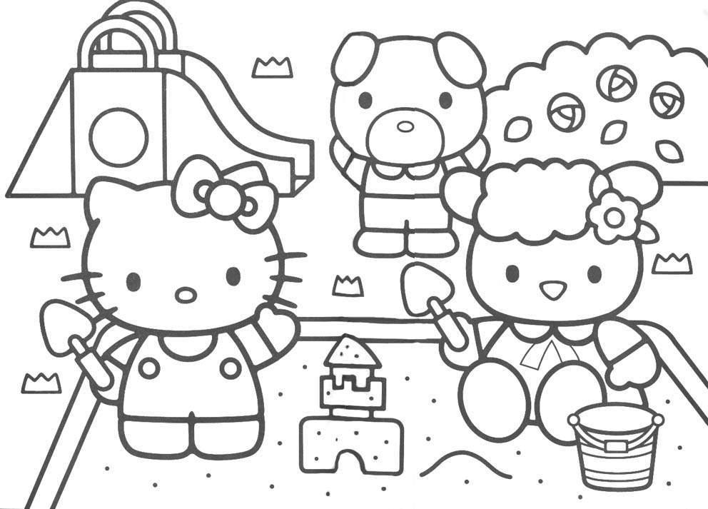 hello kitty free coloring pages ausmalbilder für kinder malvorlagen und malbuch kitty coloring kitty hello pages free