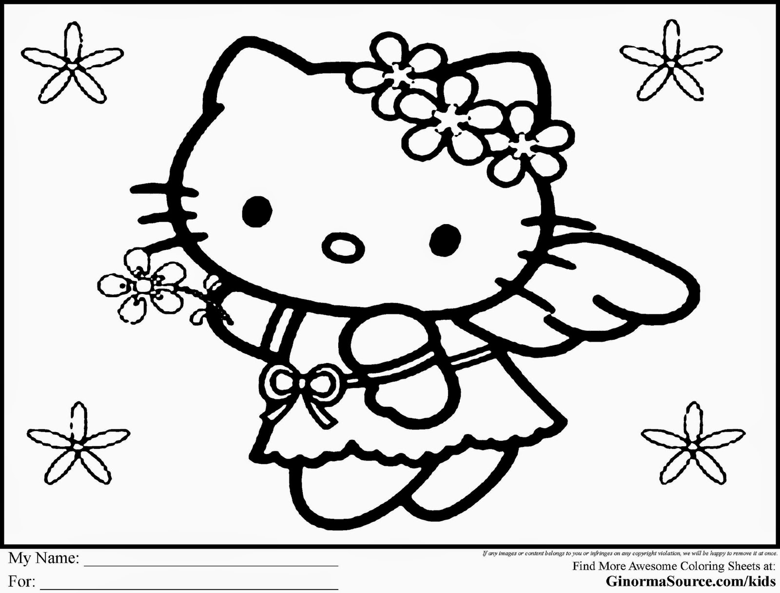 hello kitty free coloring pages cute coloring page learn to coloring pages coloring kitty hello free
