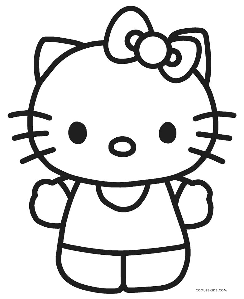 hello kitty free coloring pages hello kitty coloring pages hello pages coloring free kitty