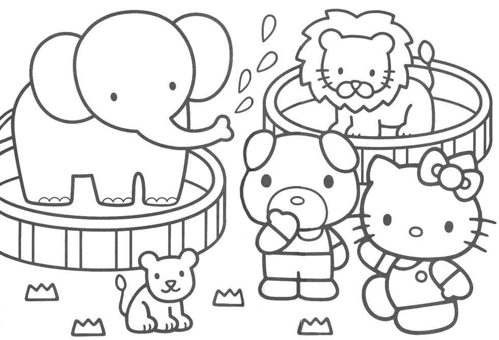 hello kitty free coloring pages hello kitty coloring pages kitty pages hello coloring free