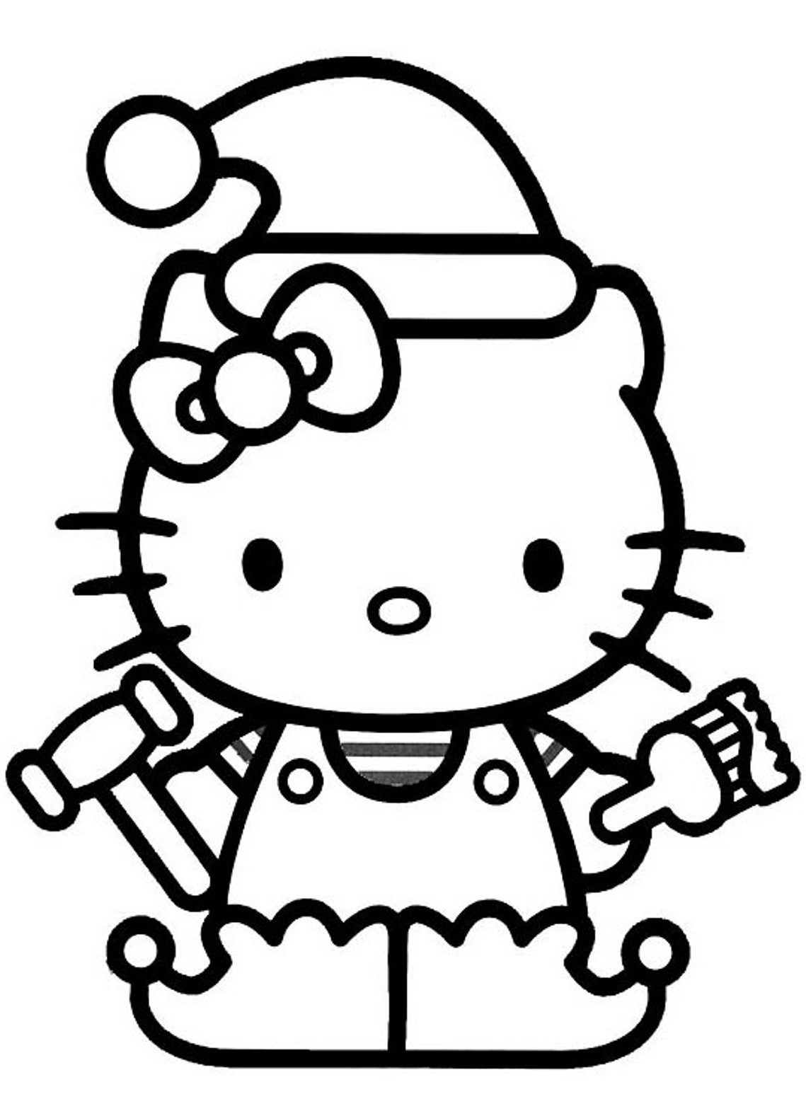 hello kitty holiday coloring pages christmas hello kitty coloring pages coloring home hello pages coloring holiday kitty