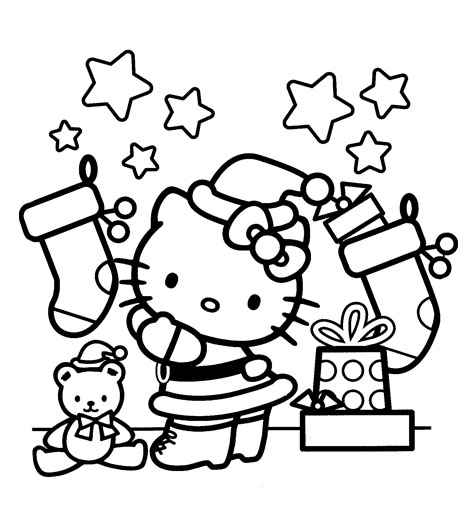 hello kitty holiday coloring pages hello kitty coloring pages hello coloring pages holiday kitty